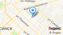 Управление Федеральной службы государственной регистрации, кадастра и картографии по Красноярскому краю на карте