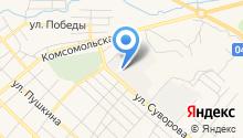 Минусинская трикотажная фабрика на карте