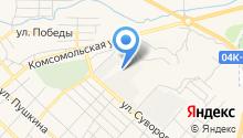Управление автомобильных дорог по Красноярскому краю на карте