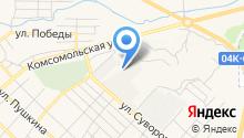 Абакан-Автоград на карте