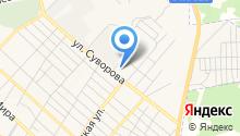 Минусинская на карте