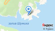 Автостоянка на ул. Левый берег красноярского водохранилища на карте