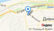 Дивногорская межрайонная больница на карте
