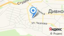Огурский на карте