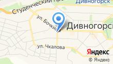 Следственный отдел по г. Дивногорску на карте