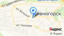 Дивногорская общеобразовательная школа на карте