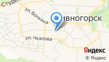 ДивногорскЛифт на карте