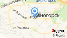 Магазин детской одежды на ул. Бочкина на карте