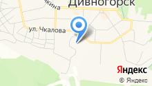 Дивногорский гидроэнергетический техникум на карте