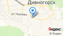 Дивногорский гидроэнергетический техникум им. А.Е. Бочкина на карте