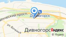 Дивногорский телеканал на карте