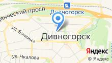 Отдел вневедомственной охраны по г. Дивногорску на карте