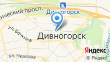 Автостоянка на ул. Бориса Полевого на карте