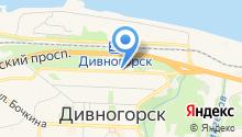 Мировые судьи г. Дивногорска на карте