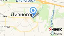 Автостоянка на Нагорной на карте