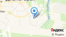 Дивногорский завод полимерных изделий на карте