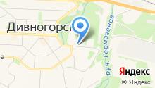 Дивногорский колледж-интернат олимпийского резерва на карте