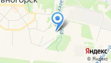 Дивногорский лесхоз-техникум на карте