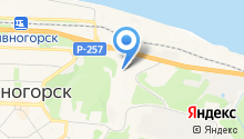 Дивногорский водоканал на карте