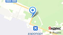 Продуктовый магазин на ул. Аэропорт Емельяново на карте