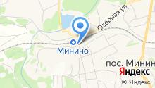 Минино на карте