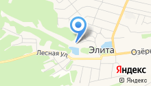 Элитовская средняя общеобразовательная школа на карте