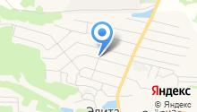 Альбина, продуктовый магазин на карте