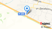 Все в дорогу на карте
