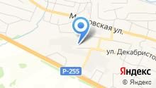 Слада Сибири на карте
