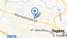 Следственный отдел по Емельяновскому району на карте