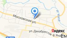 Емельяновский детский сад №3 на карте