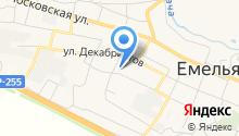 Емельяновская средняя общеобразовательная школа №3 на карте