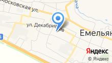 Емельяновский детский дом на карте