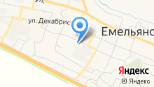 Управление пенсионного фонда в Емельяновском районе на карте