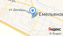 Емельяновский детский сад №2 на карте