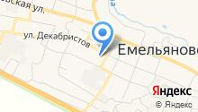 Комплексный центр социального обслуживания населения Емельяновского района, МБУ на карте