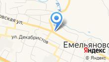 Магазин колбасных изделий на ул. Мерзлякова на карте