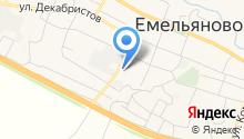 ТАКСИ Емельяново МИ-8 - ТАКСИ Емельяновский район  на карте