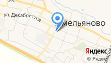 ЗАГС пос. Емельяново на карте