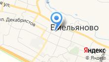Енисейский объединенный банк на карте