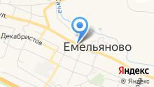Экспресс Такси на карте