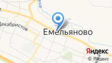 Банкомат, Енисейский объединенный банк на карте