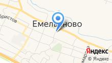 Отделение вневедомственной охраны по Емельяновскому району на карте