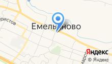 Управление социальной защиты населения, Администрация Емельяновского района на карте