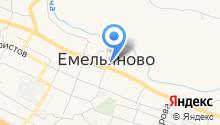 Уголовно-исполнительная инспекция ГУФСИН России по Красноярскому краю на карте