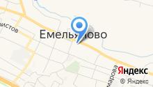 Администрация Емельяновского района на карте