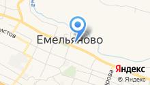 Емельяновский районный суд на карте