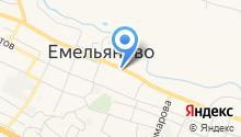 Стельмаш Е.И. на карте