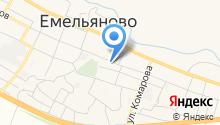 Емельяновский отдел ветеринарии на карте