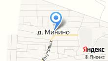 Продуктовый магазин на ул. Внуковых на карте